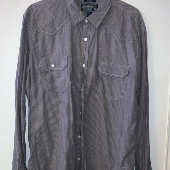 American Rag Other - American Rag grey casual long sleeve shirt.